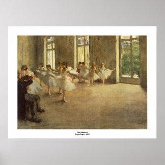 Edgar Degas Poster