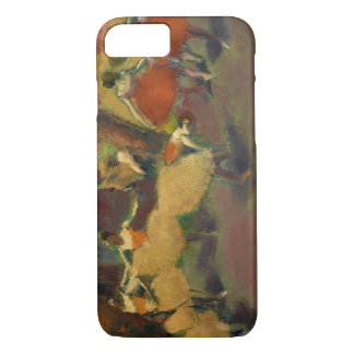 Edgar Degas - vóór de Prestaties iPhone 7 Hoesje