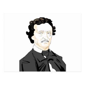 Edgar Poe Briefkaart