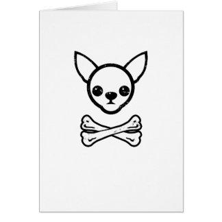 (Editable) Chihuahua en bot Kaart