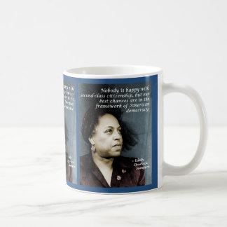 Edith Sampson: Afrikaans-Amerikaans burgerschap Koffiemok