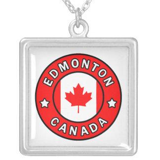 Edmonton Canada Zilver Vergulden Ketting