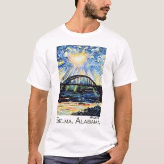 Edmund Pettus Bridge, Selma Alabama, Zonnestraal T Shirt