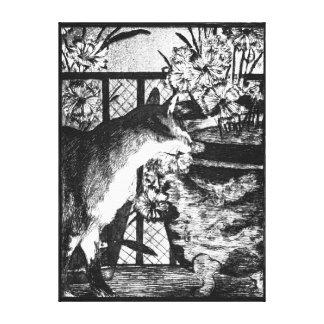Édouard Manet Cat en Bloemen Canvas Afdrukken