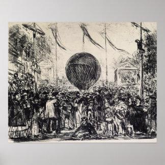Edouard Manet - de Ballon Poster