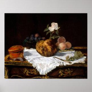 Édouard Manet de Brioche Poster