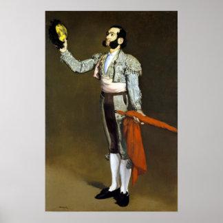 Édouard Manet een Stierenvechter Poster