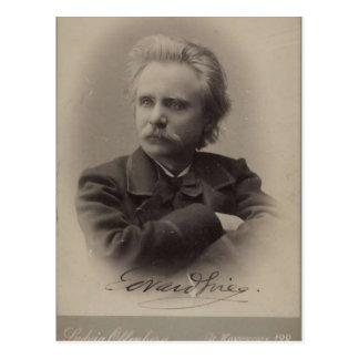 Edvard Grieg Briefkaart