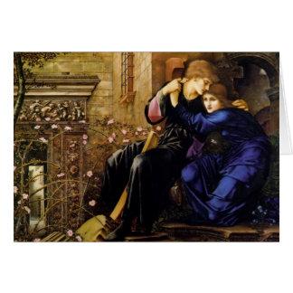 Edward Burne-Jones- Love Among de Ruïnes Kaart