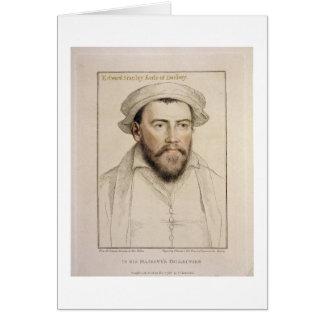 Edward Stanley gegraveerd Earle van Darby Kaart