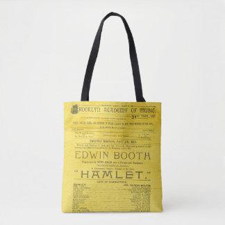 Edwin Booth Hamlet Program Draagtas