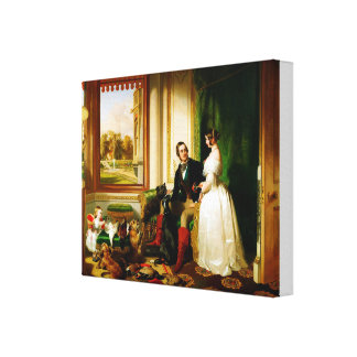 Edwin Landseer Windsor Castle in Moderne Tijden Canvas Print