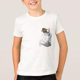 Eekhoorn in Mijn T-shirt van de Zak