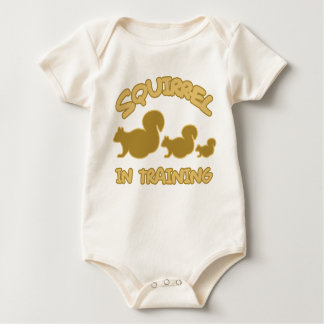 Eekhoorn in Opleiding Baby Shirt