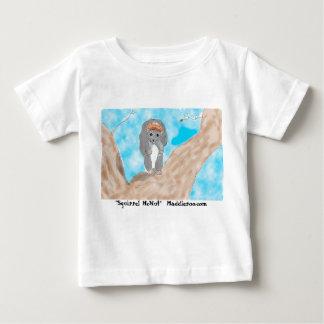 Eekhoorn McNut, babyt-shirt Baby T Shirts