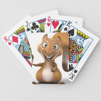 eekhoorn ontwerp bicycle speelkaarten