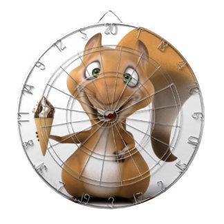 eekhoorn ontwerp dartbord