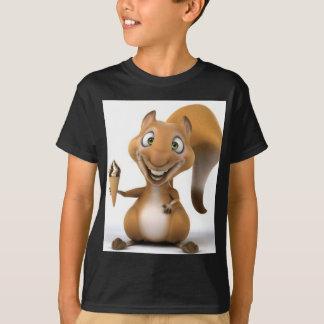 eekhoorn ontwerp t shirt