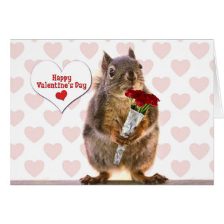 Eekhoorn Valentijn Briefkaarten 0