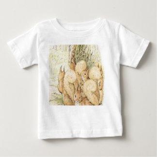 Eekhoorns voor baby baby t shirts