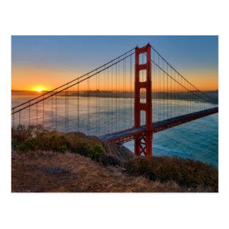 Een absoluut overweldigende zonsopgang briefkaart