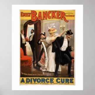 Een affiche van het Theater van de Behandeling van Poster