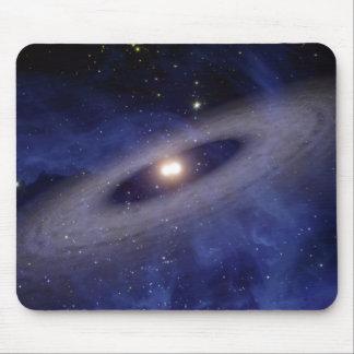 Een afgelegen zonnestelsel muismat