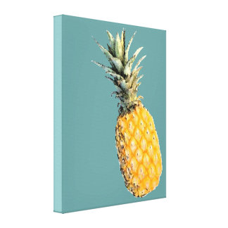 een ananas canvas afdrukken