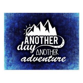 Een andere Dag, Een ander Avontuur Briefkaart