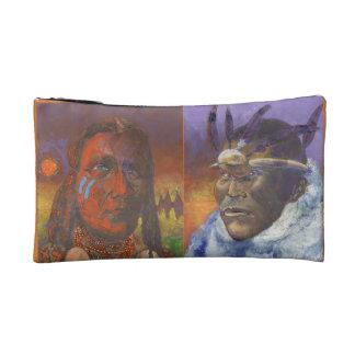 Een andere roodhuiden kleuren - Indische Makeupbag Make-up Bag