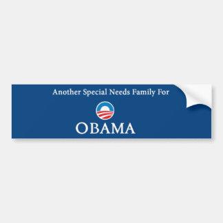 Een andere Speciale Familie van Behoeften voor Oba Bumpersticker