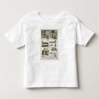 Een bakkerij en bakselmateriaal, van 'Encyclope Kleuter T-shirt