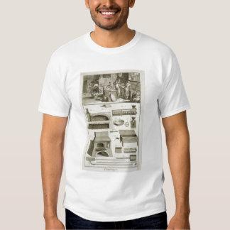 Een bakkerij en bakselmateriaal, van 'Encyclope Tshirts