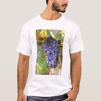 Een bos van de druiven van de Pinot Noir in een T Shirt