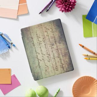 """Een """"briefkaart betekent"""" iPad een Dekking iPad Cover"""