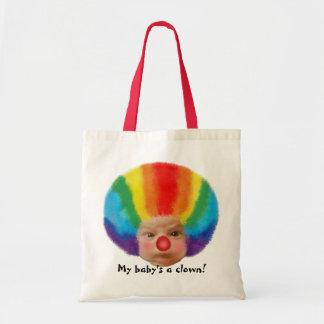 Een clown van mijn baby! Canvas tas