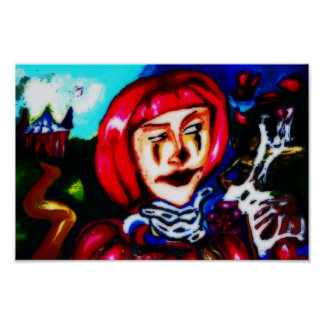 een clowndagdromen poster