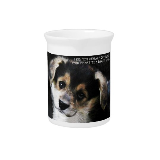 Een Corgi in Uw Hart Limonade Pitchers