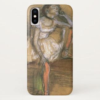 Een Coryphee die door Edgar Degas, Vintage Ballet iPhone X Hoesje