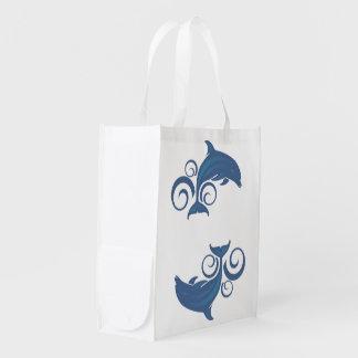 Een dolfijn boodschappentas