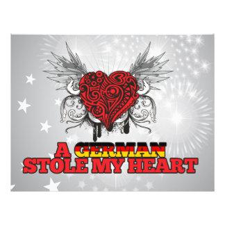 Een Duitser stal mijn Hart Folder Ontwerp