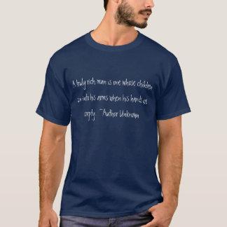 Een echt rijke man t shirt