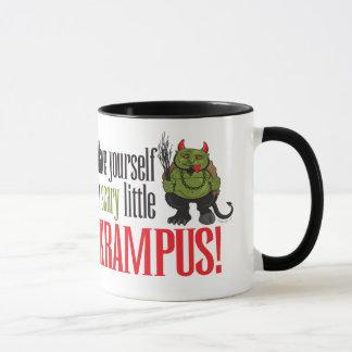 Een enge kleine Krampus Mok