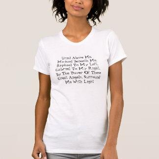 Een engel die wanneer u Kwetsbaar voelt zegenen T Shirt