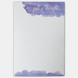 Een enkel Gedachte Post-it® Notes