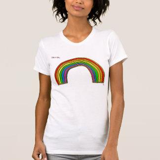 Een enkel hemd van de beetje… regenboog
