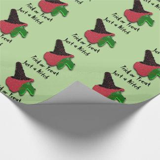 Een enkel Trick or treat van de Heks Inpakpapier