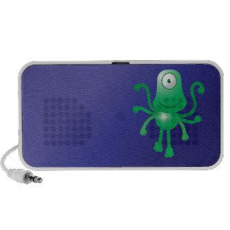 Één eyed leuke vreemdeling iPod speaker