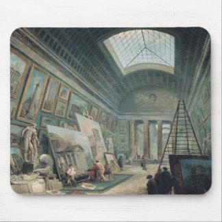 Een galerij van het Museum met Oud Roman Art. Muismat