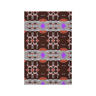 Een gat in de Muur - Speelse Tapisserie Stretched Canvas Prints
